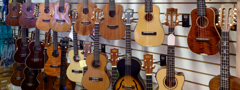 Kiernan Guitars & K-Side Ukes