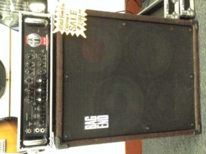 Used Bass Head & Cabinet Sale