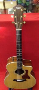 Used Taylor 214ce